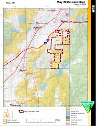 Blm Maps Blm Seeks Comment On Environmental Assessments May 2015 Oil Gas