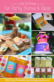 the birthday ideas birthday party themes diy ideas and free party printables
