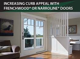 Increasing Curb Appeal - increasing curb appeal with frenchwood or narroline doors