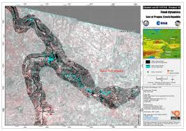 Map Of Czech Republic Flooding In Central Europe Charter Activations International