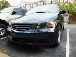 2003 honda odyssey minivan wreckedgt 2003 honda odysseyex l 4d specs photos