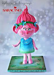 25 best trolls cakes images on pinterest trolls cakes troll