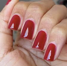 varnished valkyrie blood red nails on your fingertips opi got