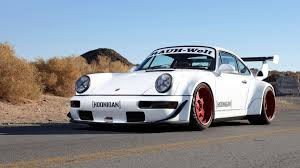 stanced porsche 964 rauh welt begriff rwb porsche 911 964 turbo youtube