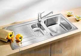 Stainless Steel Kitchen Sinks BLANCO Lanis S Stainless Steel - Kitchen sinks blanco