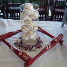 baseball wedding table decorations neat table decoration for baseball themed party bar mitzvah