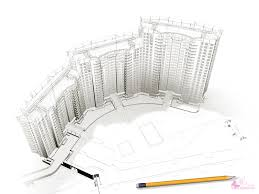 Residential Ink Home Design Drafting by Architectural Design Drawing