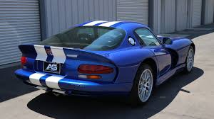 Dodge Viper Gts - 1997 dodge viper gts blue white stripes american supercars