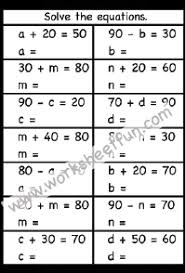 algebra free printable worksheets u2013 worksheetfun