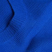 burberry check knit wool cashmere sweater sapphire blue in blue lyst