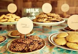 wedding cookie table ideas personalize your cookie table with place cards wedding cookie table