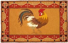 Round Rooster Rug Rug Rooster Rugs Ideas