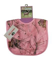 Mossy Oak Bedding Mossy Oak Pink Baby Blanket U0026 Bib 2pc Set Carstens Camo Minky Back