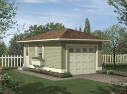 one car garage plans house plans and more