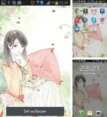 anime girl android live wallpaper android girls live wallpapers free download page 2