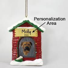 bullmastiff house ornament personalize it yourself
