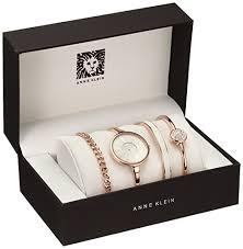 anne bracelet images Anne klein women 39 s ak 1470rgst rose gold tone bangle watch and jpg