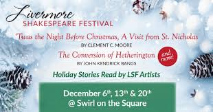 lights of livermore holiday tour holiday shakespeare reading at swirl on the square visit tri valley