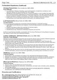 Sample Civil Engineering Resume by Engineering Resume Cover Letter Sample Cover Letters For