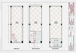 10 30 complex shop plan for mr manoj kumawat indian architect