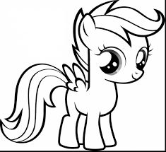 beautiful my little ponies coloring pages with disney characters