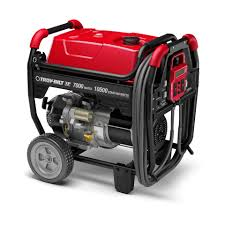 shop troy bilt xp 7 000 series 7 000 running watt portable