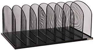 safco onyx mesh desk organizer amazon com safco products 3253bl onyx mesh desktop organizer with