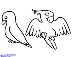 simple drawing of a bird how to draw birds for kids step step
