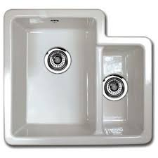 Shaws Of Darwen Classic Brindle Ceramic UnderMount Or Inset - Kitchen sinks ceramic
