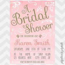 pink and gold bridal shower invitations marialonghi com