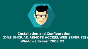 installer bureau à distance configuration windows server 2008 r2 dns dhcp ad bureau a
