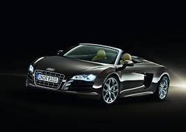 audi supercar black audi r8 spyder adds another engine roadshow
