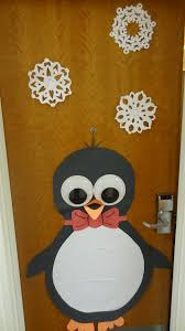 Office Christmas Door Decorating Contest Ideas Cute Holiday Decoration For My Dorm Door I Made With Large Googly