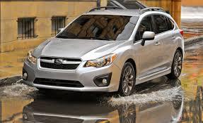 2012 subaru impreza 2 0 cvt hatchback test u2013 reviews u2013 car and driver