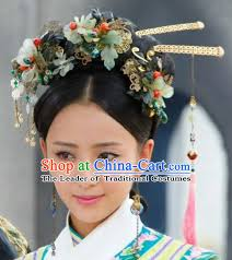 traditional hair accessories qing dynasty hairpins hair accessories headpieces
