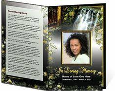 how to make funeral programs free funeral program templates button and make this