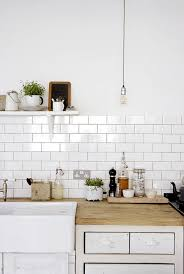 subway tile backsplash kitchen kitchen design