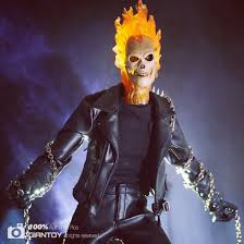 custom full set 1 6 ghost rider costume with lighting head sculpt
