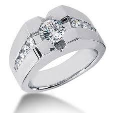 diamonds rings images 1 73ct men 39 s diamond solitaire pinky ring gold platinum jpg