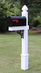 Brick Mailbox Flag Features Includes Standard Size Black Galvanized Steel Rural