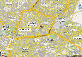 map of mexuco map of inn east mexico city venustiano carranza