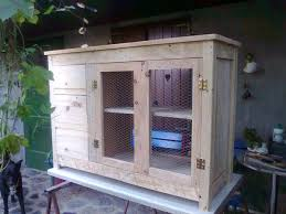 Reclaimed Wood Storage Cabinet Diy Pallet Sideboard Storage Cabinet 99 Pallets