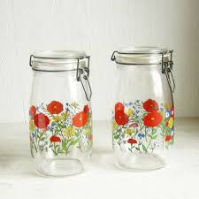 kitchen glass canisters best glass canisters with lids products on wanelo