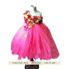toddler birthday flower tutu dress pink color tutu