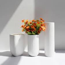 vase home decor 100 creamic mid century matte white porcelain vase modern home
