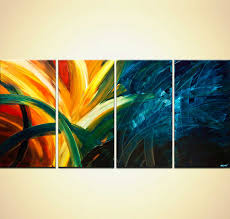 abstract painting colorful abstract art home decor 8101