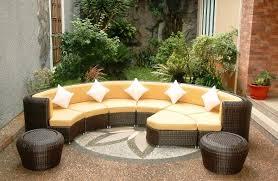 Rattan Curved Sofa Curved Rattan Sofas Www Energywarden Net