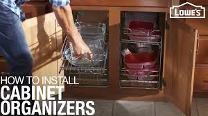 kitchen cabinet storage canada how to install cabinet organizers