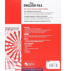 купить new english file elementary workbook with answer booklet wi