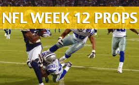 nfl week 12 player props thanksgiving prop bets 2017 18 season